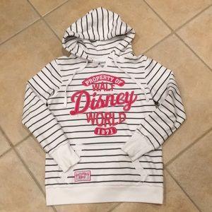 Walt DIsney Parks hooded sweatshirt.